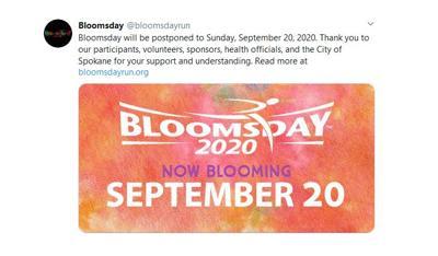 Bloomsday Postponed