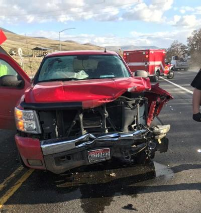 US95 Crash South of Lewiston