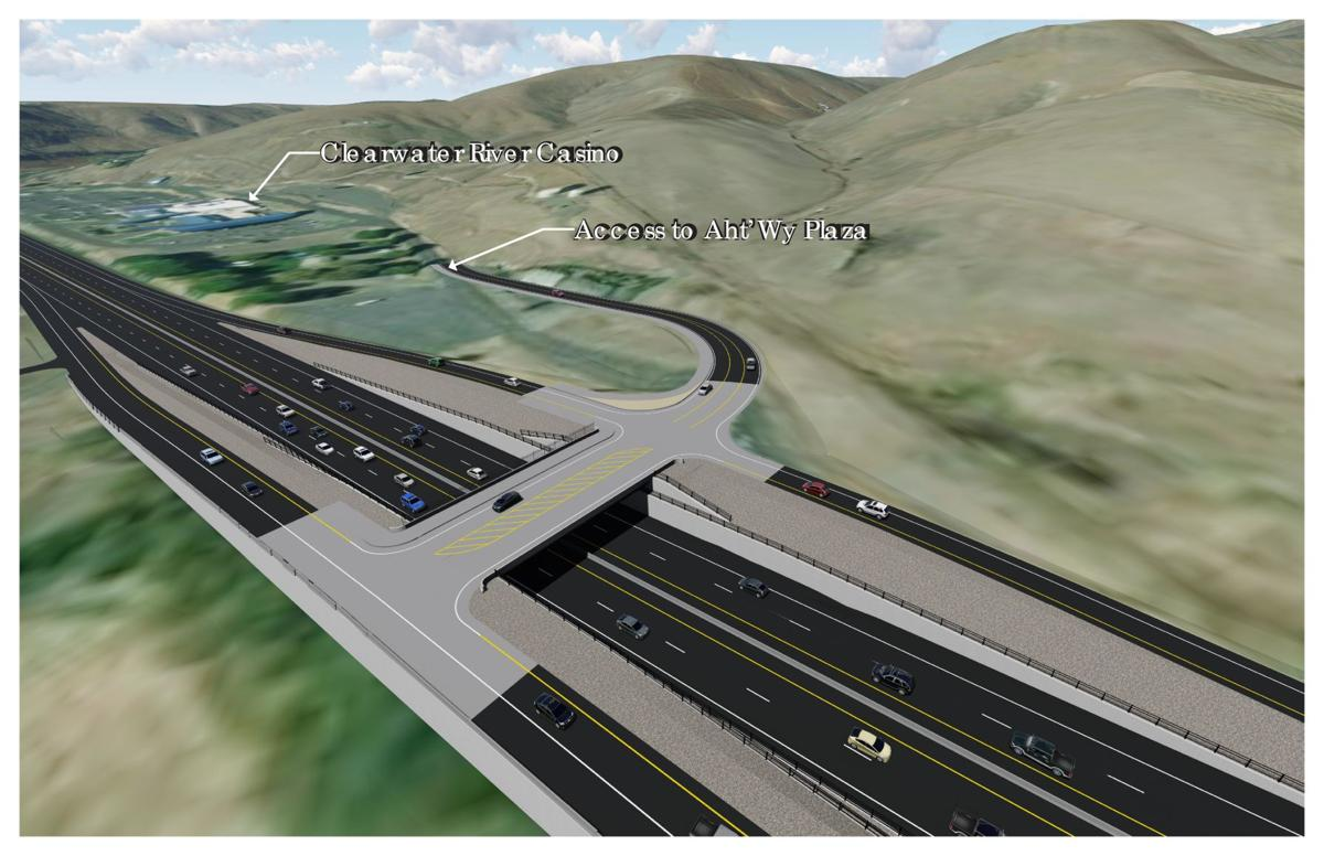 Clearwater River Casino Interchange Rendering 2