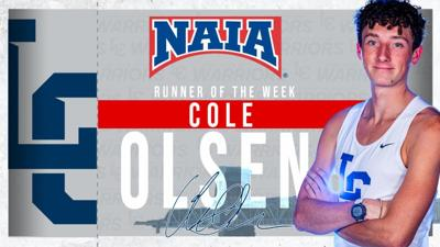 Cole Olsen, NAIA Runner of the Week
