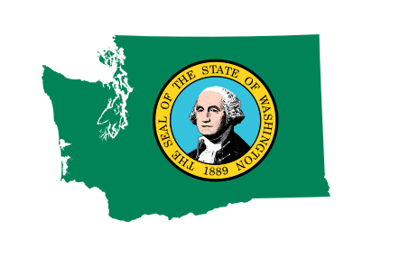 State of Washington With Seal