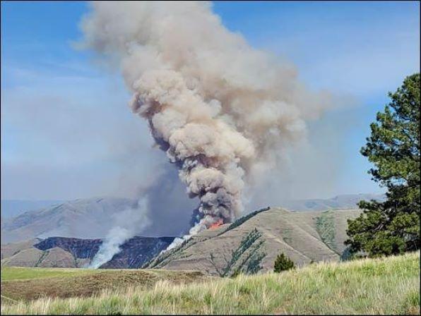 Joseph Canyon Fire 6.4.21