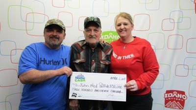 J Ned Paffile, Idaho Lottery