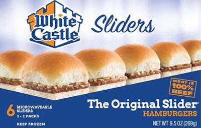 White Castle Frozen Slider
