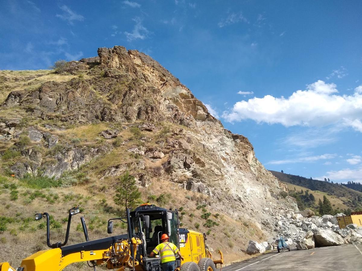 Riggins Rock Slide 705