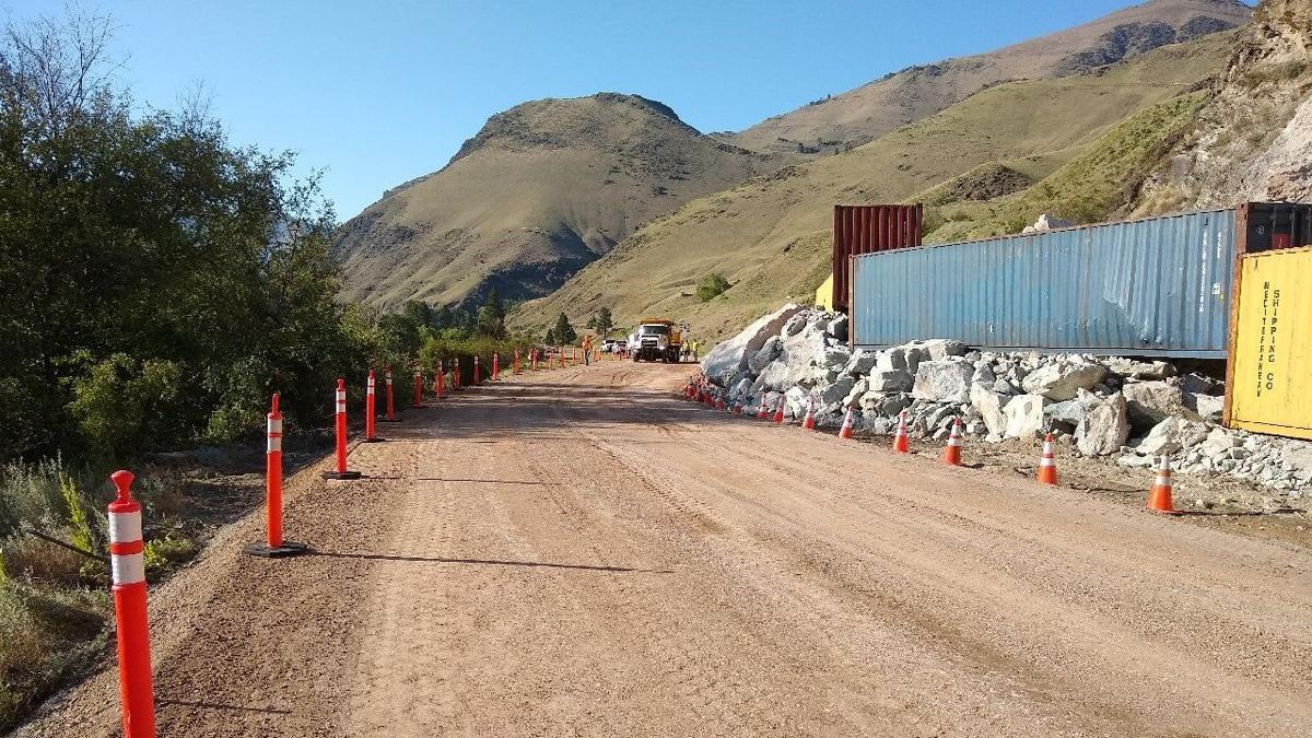 US95 Temporary Road