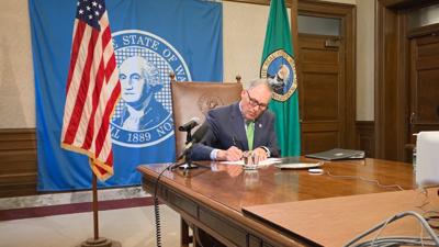 Inslee Signing Bill