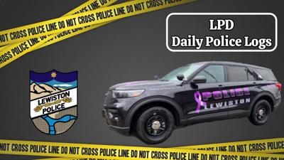 Lewiston Police Department Daily Logs