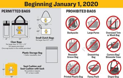UI Clear Bag Policy