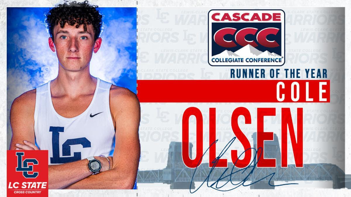 Cole Olsen, CCC Runner of the Year