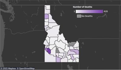 Idaho COVID Deaths