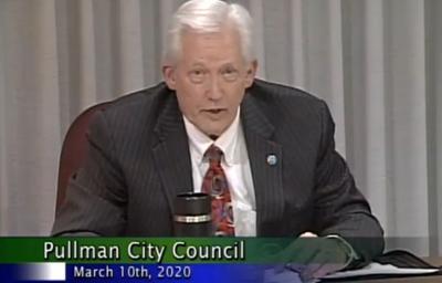 Pullman Council Meeting Screen Capture