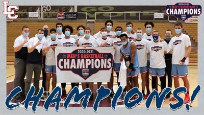 LCSC Mens Basketball CCC Champions