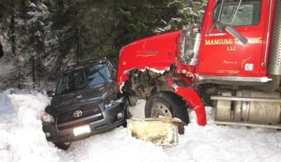 Logging Truck Accident Clearwater County