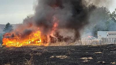 Clarkston Heights Fire 1017
