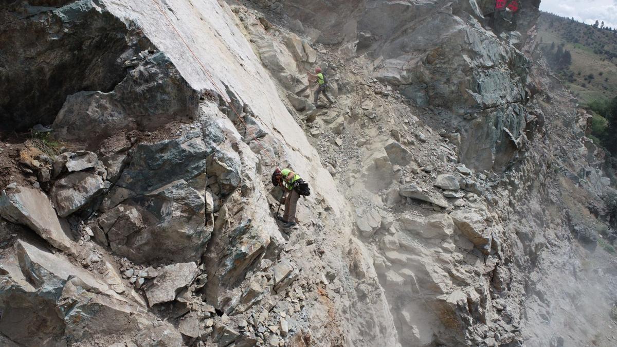 Scaling Road Slide US95