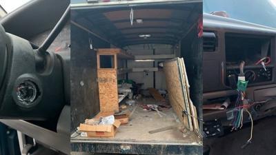 Bonebrake Pickup Trailer Damage