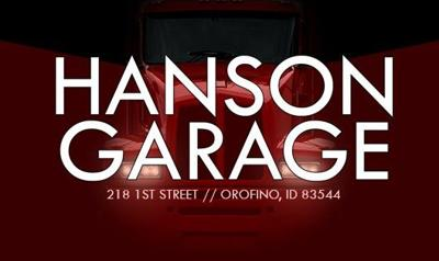 Hanson Garage Orofino