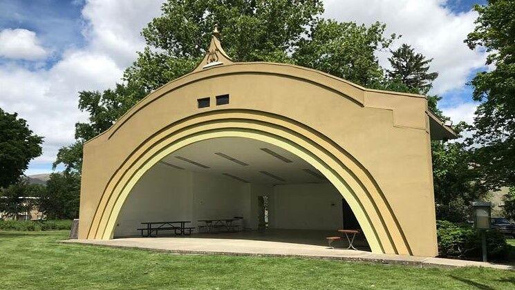 Lewiston Pioneer Park Bandshell