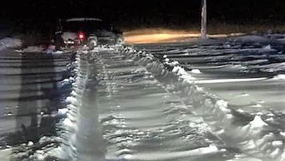 Whitman County Drifting Snow 1-16-20