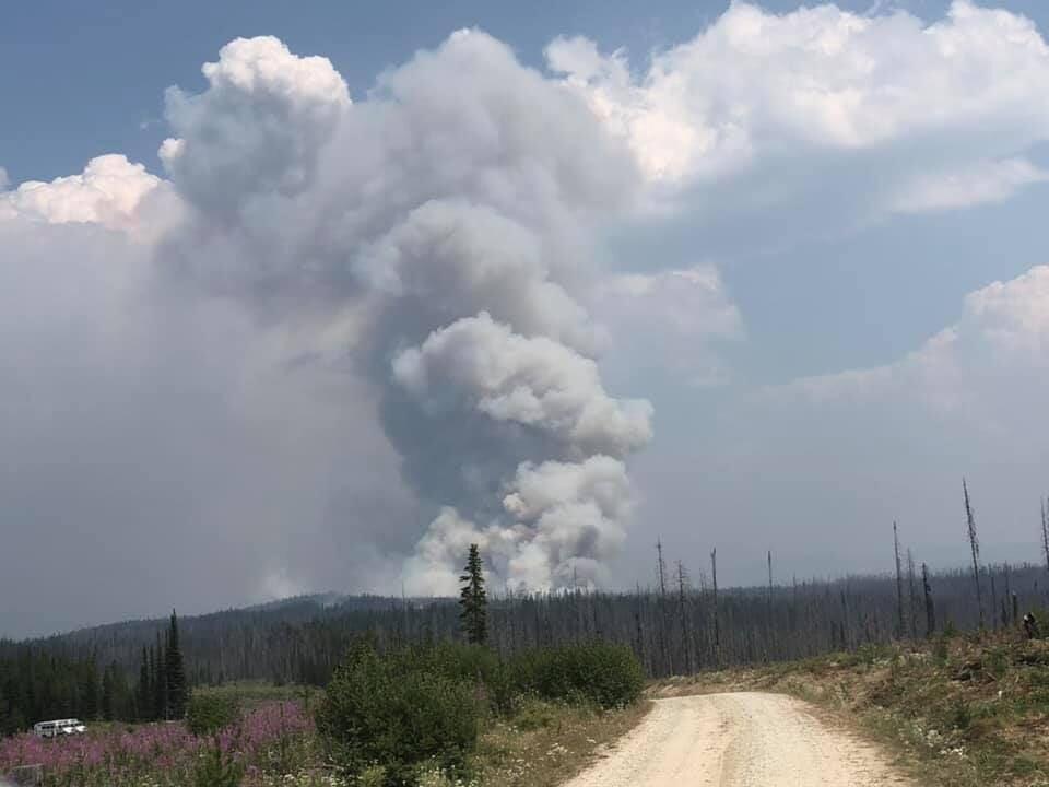 Dixie Fire Smoke 7.21.21