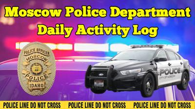 Moscow Police Department Daily Log