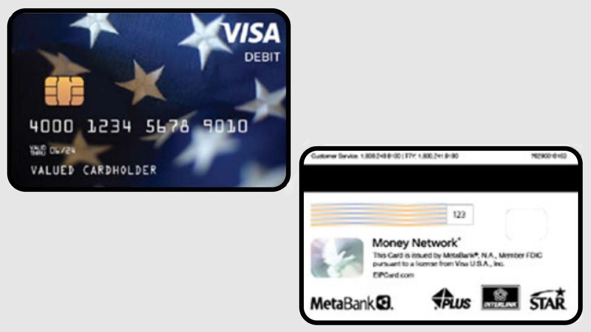 Stimulus Debit Cards