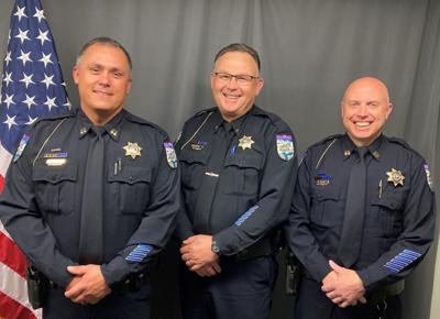 Lewiston Police Officers Promoted to Capt.