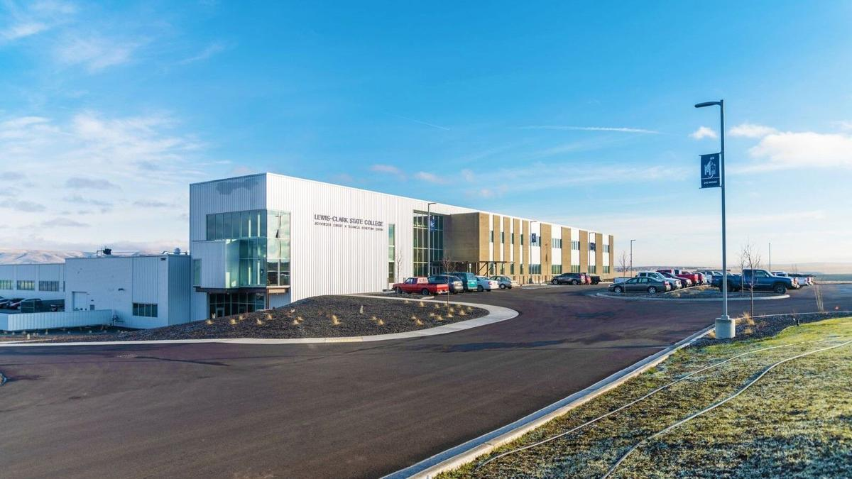 LC State Schweitzer CTE Center Outside View