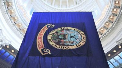 Idaho Capitol Flag