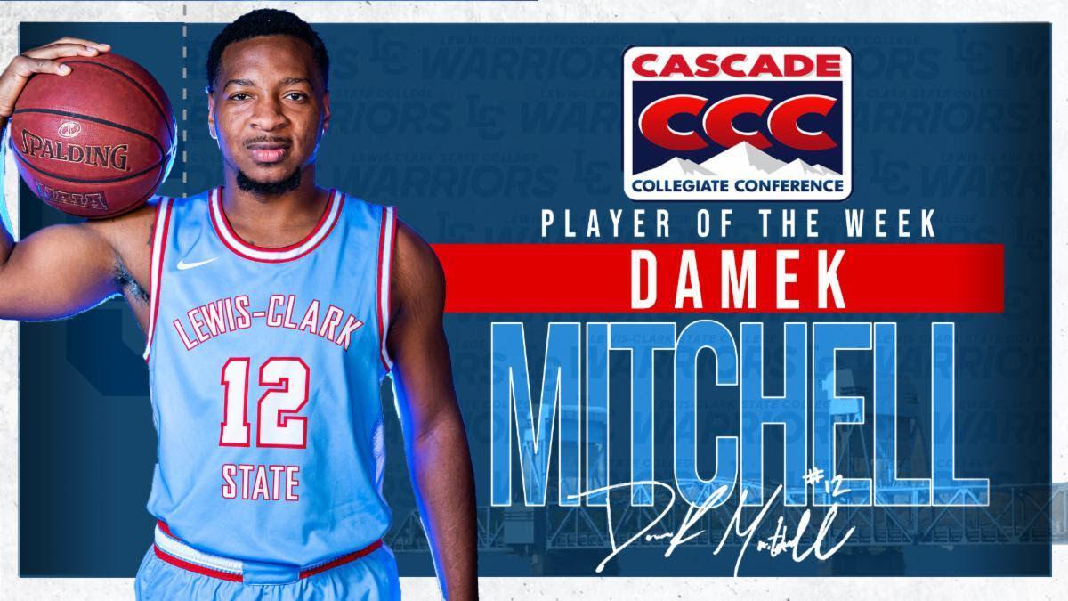 Damek Mitchel, Player of the Week
