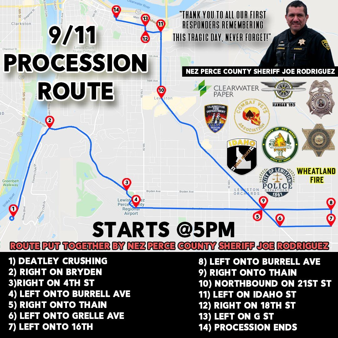 2020 9/11 Procession