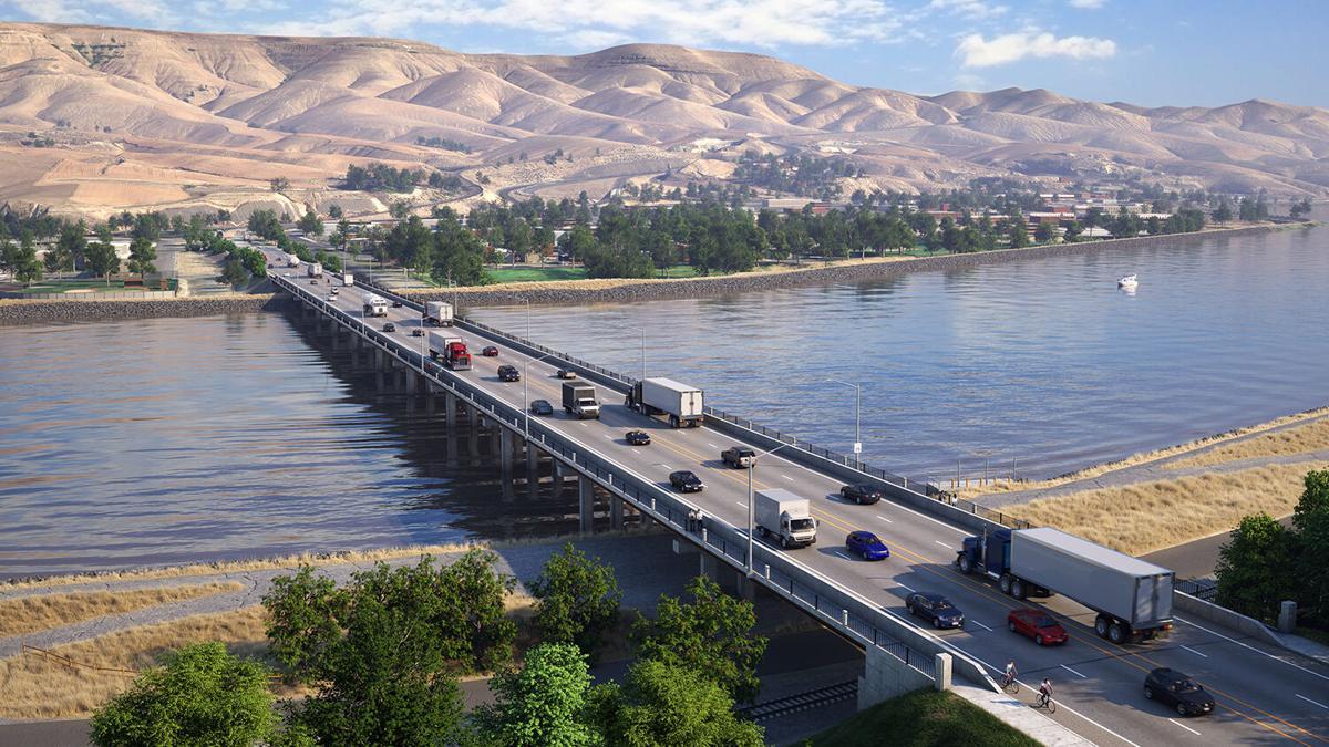 Clearwater Bridge Rendering