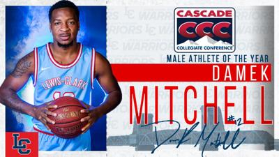 Damek Mitchell, Male Athlete of the Year