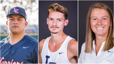 LCSC Warrior Trio Earn CCC Weekly Honors