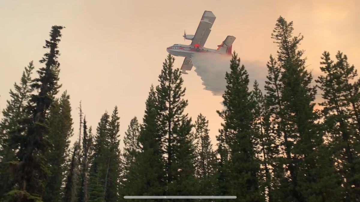 Lick Creek Fire Operations