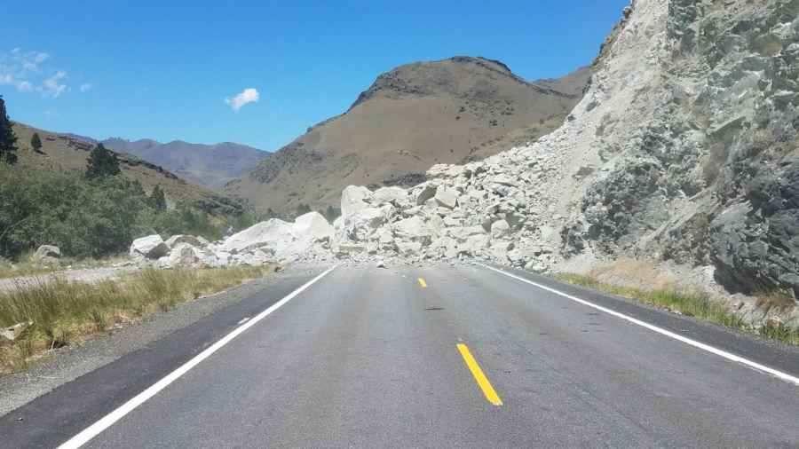US95 Rock Slide 704