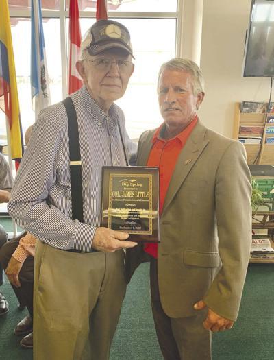Col. Jim Little retirement