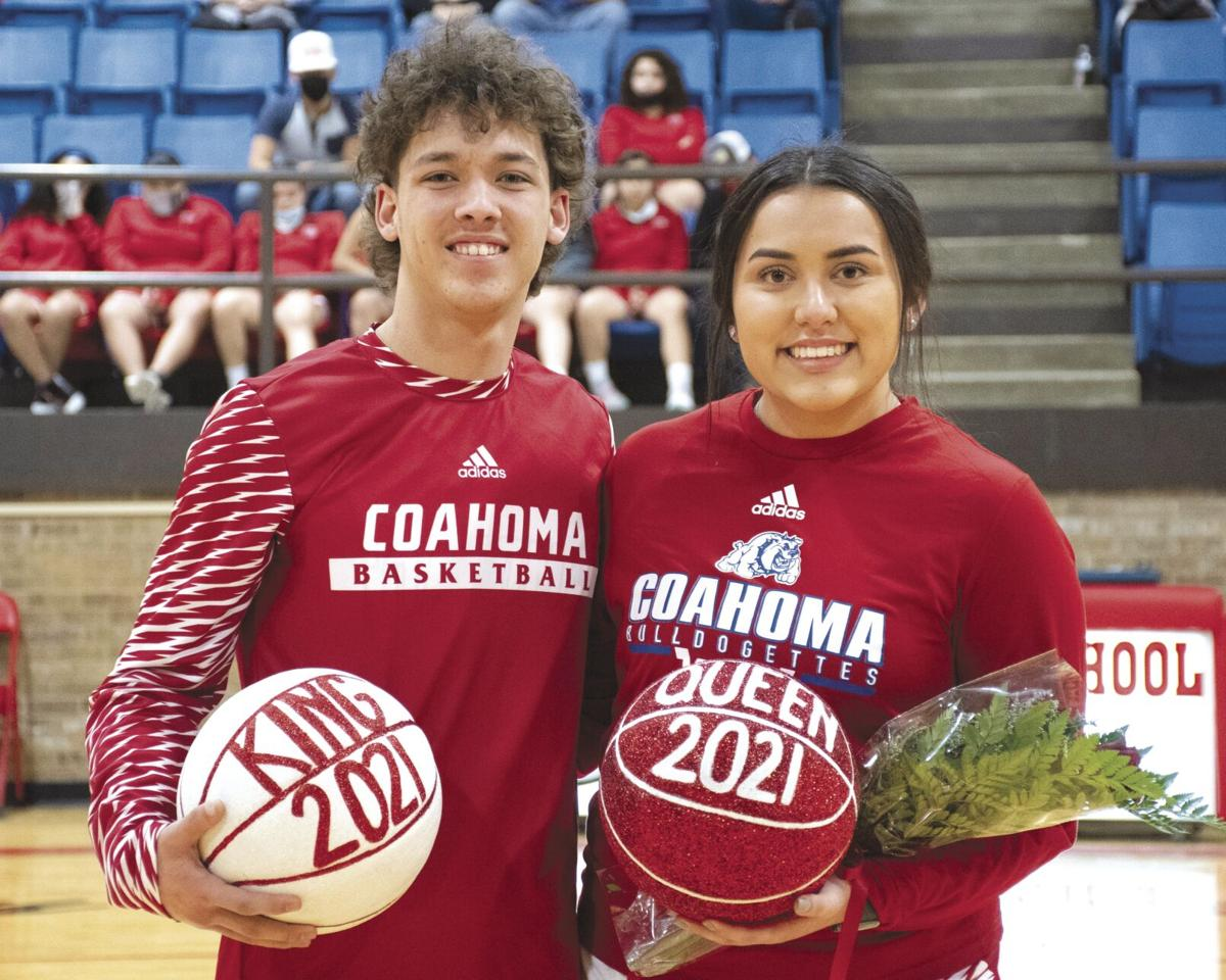 CHS Basketball King and Queen