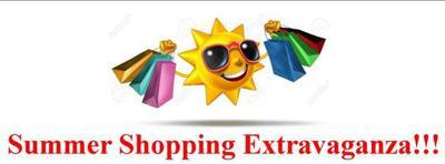 shopping extravaganza