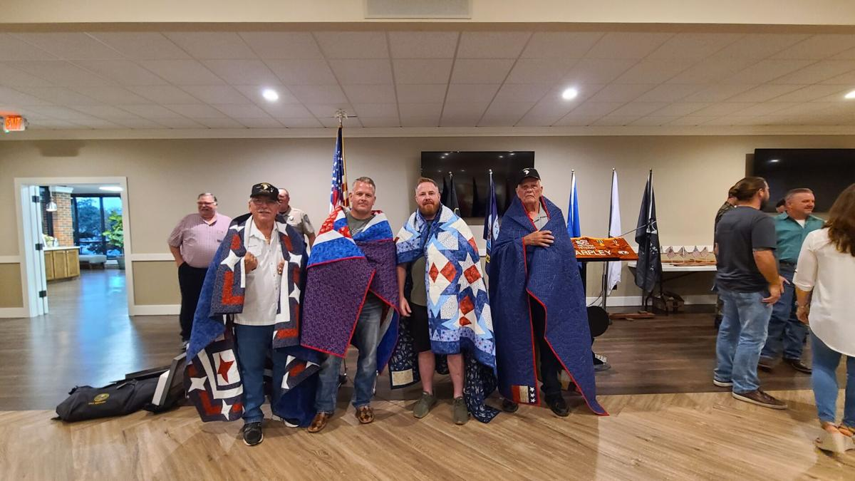 Quilt of Valor honorees