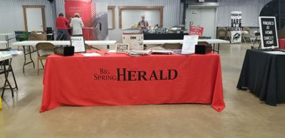 Herald booth