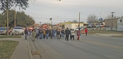 Martin Luther King Jr. Day march