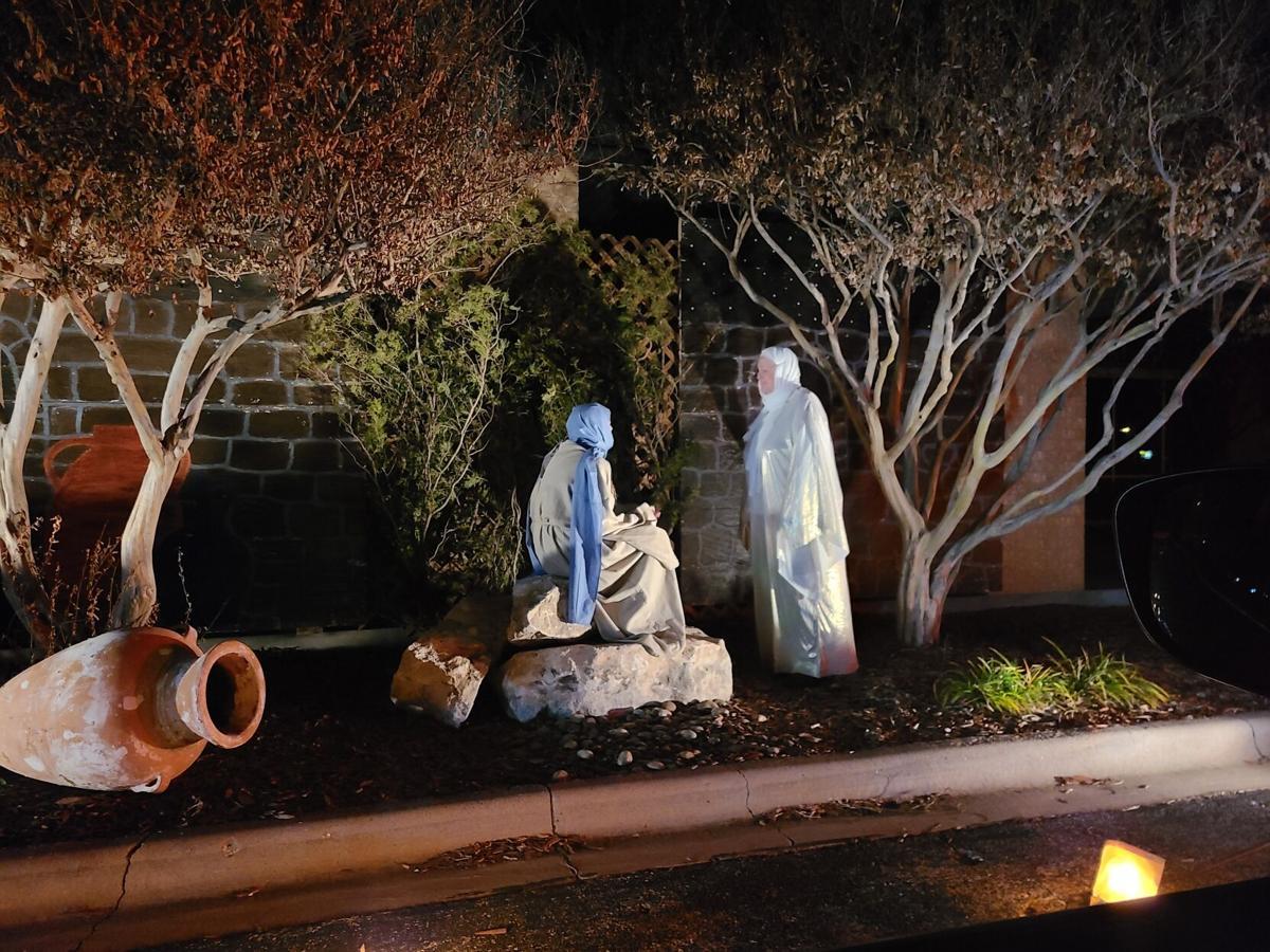 Nativity scene - Mary