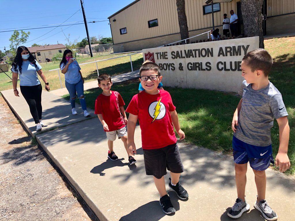 Salvation Army kids