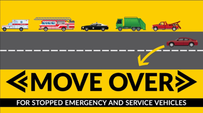 """Odessa Police Reminding Motorists about """"Move Over/Slow Down"""" Law"""