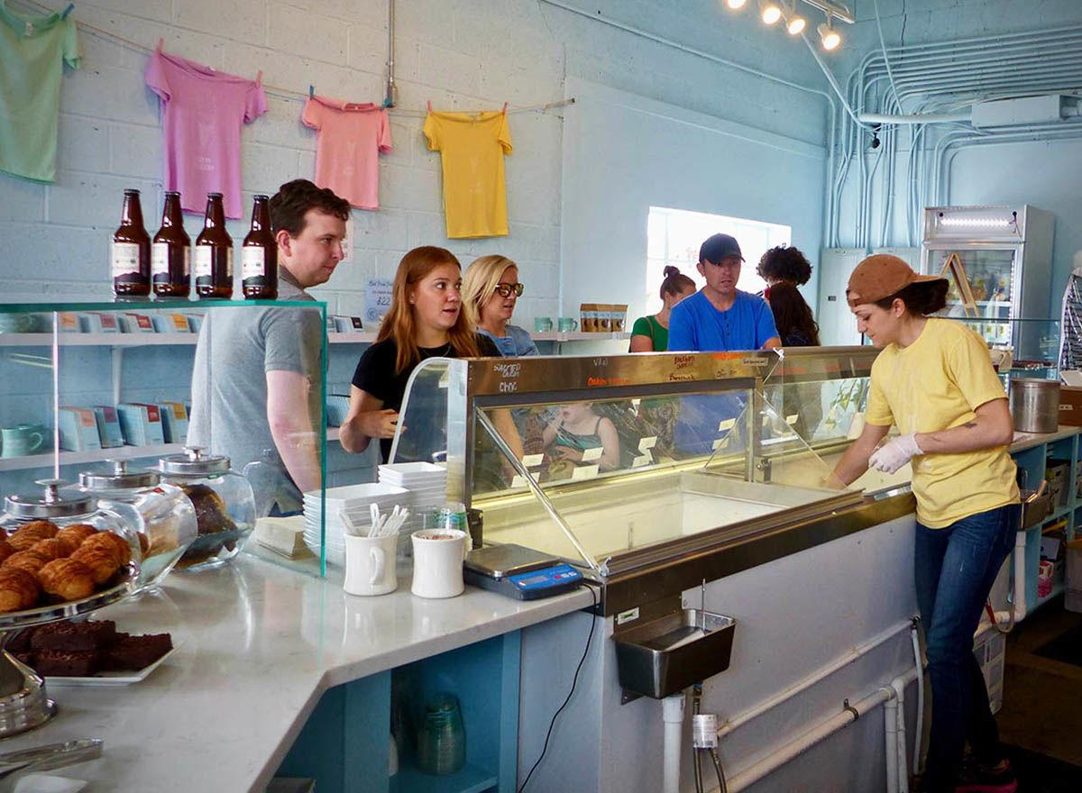 Cookies & Creamery counter service 6-19