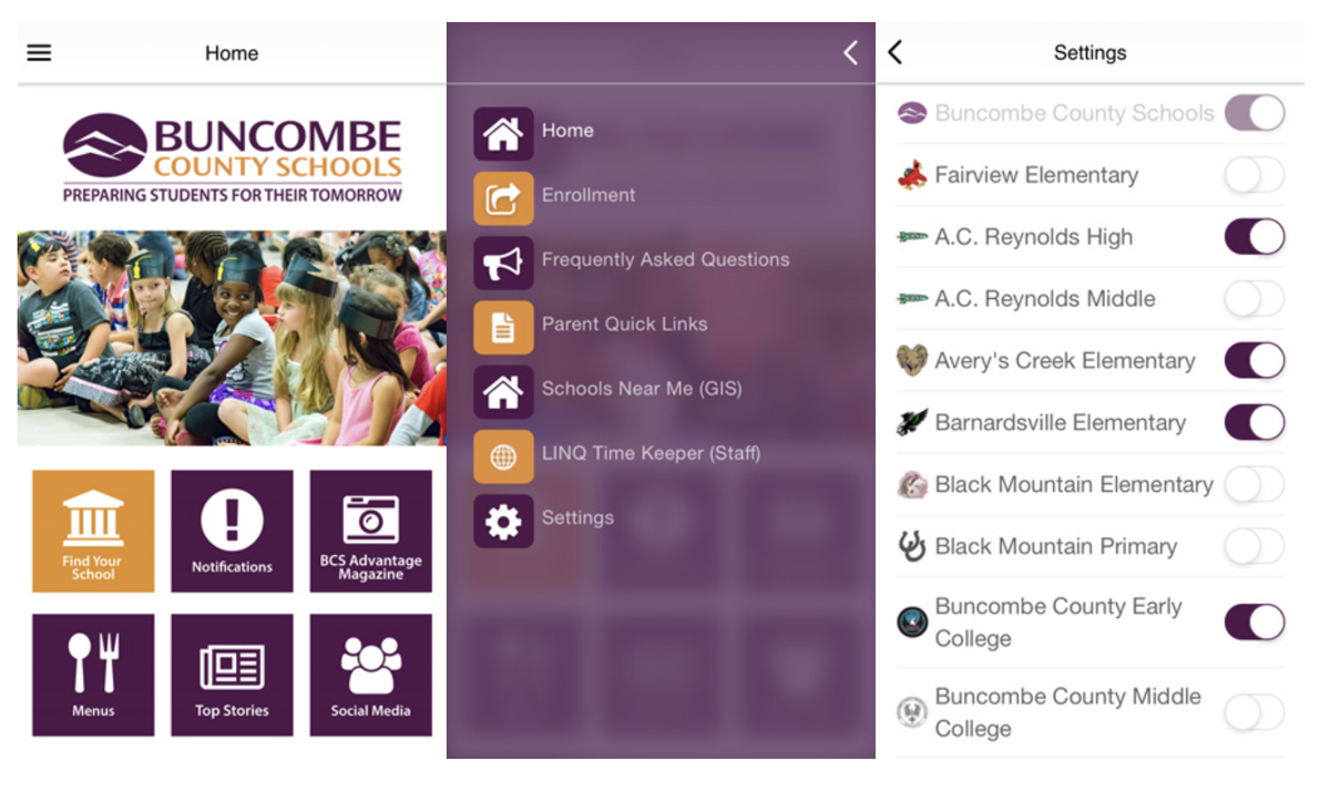BCS mobile app
