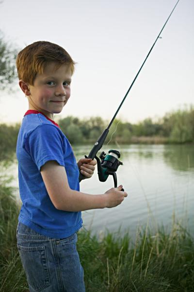 Spring Kids Fishing Tournament at Lake Julian Park is May 14