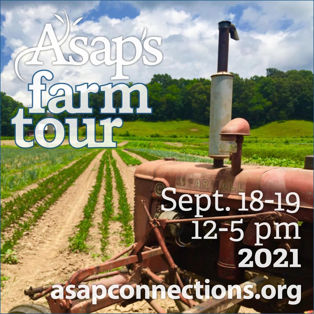 ASAP Farm Tour tractor